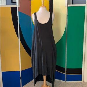 Andrea jovine distressed high low hem dress